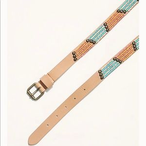 Free People By the Sea beaded belt